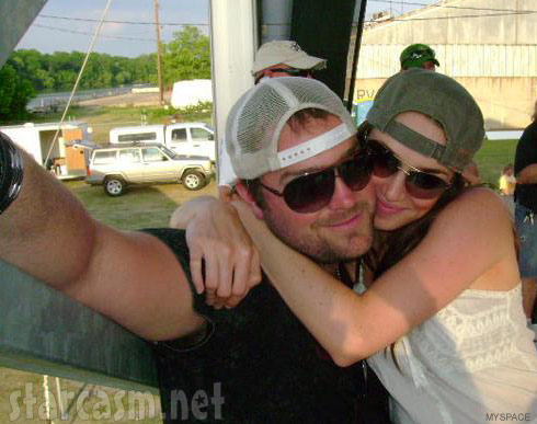 Big Brother 13's Cassi colvin with her boyfriend Lee Brice in 2008