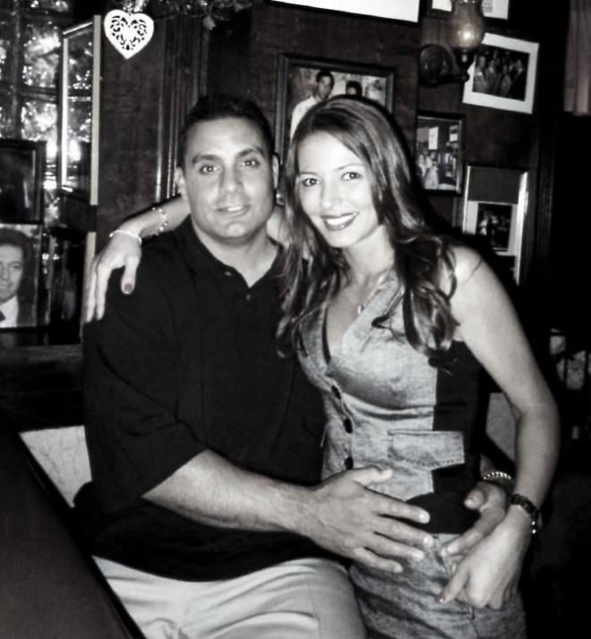 Mob Wives' Drita D'Avanzo with husband Lee D'Avanzo