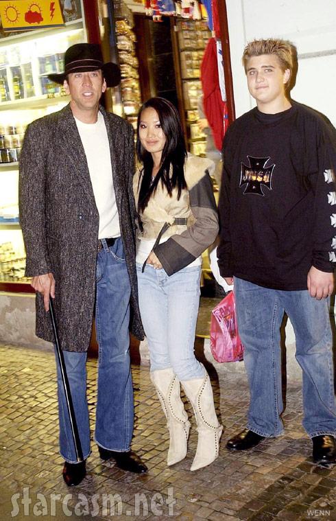 Nicolas Cage Wife Son