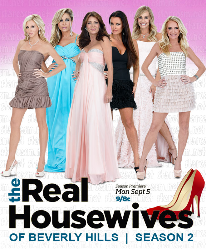 Real Housewives of Beverly Hills cast photo for Season 2 premiering September 5