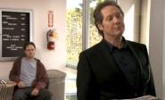 Dwight Schrute and Robert California of The Office