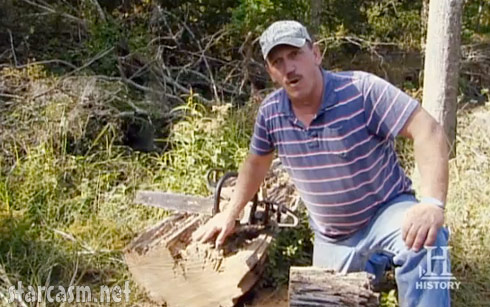 Swamp People's Troy Landry hunts cypress logs in addition to alligators