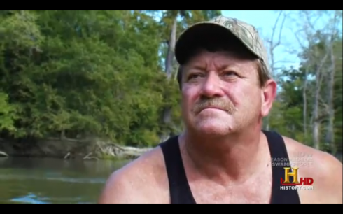 Terral Evans Swamp People Live Alligators Catfish Noodling