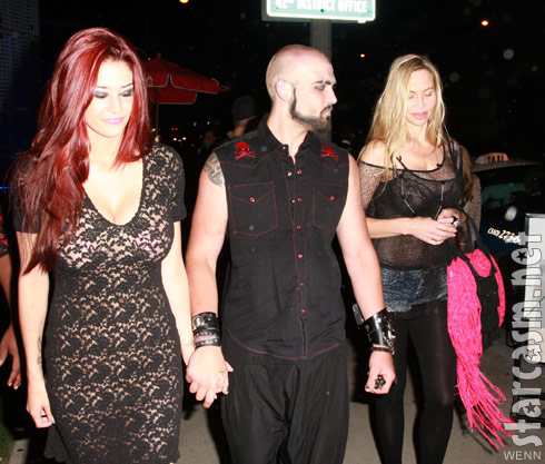 Weston Cage reunites with his wife Nikki Williams Cage and mother Christina Fulton