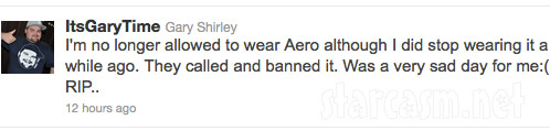 Teen Mom's Gary Shirley tweets about Aeropostale ban