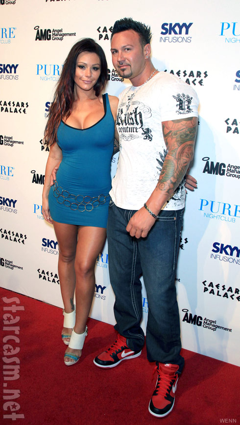 JWoww and boyfriend Roger Matthews at Pure Nightclub in Las Vegas