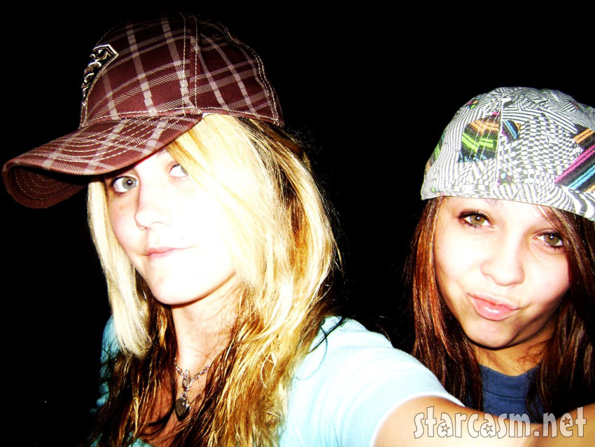 Jenelle Evans with her best friend Tori Rhyne