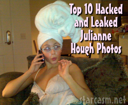 Top 10 Hacked and Leaked Julianne Hough photos