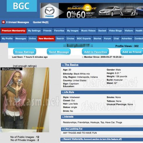 Kameryn Gibson BGCLive.com profile