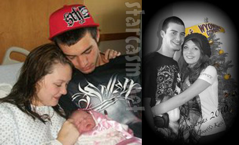 16 and Pregnant's Katie Yeager, baby dady Joey Maes and their baby daughter Mollie