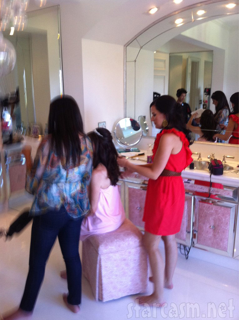 3 Loves Beauty prepares Lisa Vanderpump for her daughter Pandora&#039;s wedding