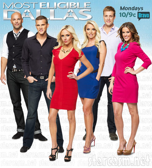 Cast photo of Bravo's Most Eligible Dallas reality series