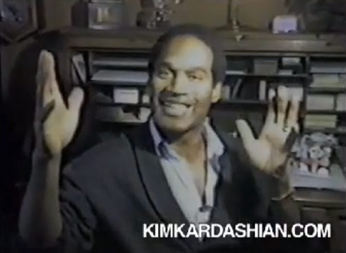 "O.J. Simpson makes an appearance in Kris Jenner's ""I Love My Friends"" music video"