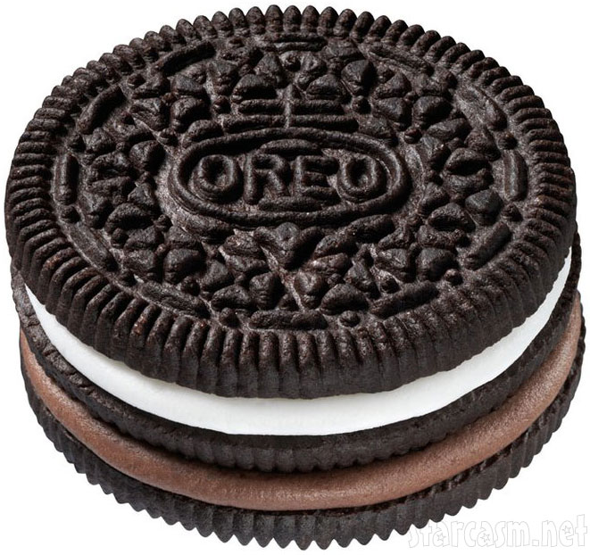 Picture of Nabisco's new Triple Double Oreo cookie