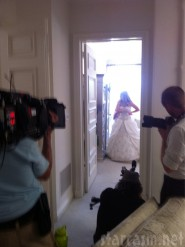 Pandora Vanderpump-Todd wedding gown photo