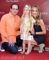 Taylor Armstrong with husband Russell Armstrong and daughter Kennedy