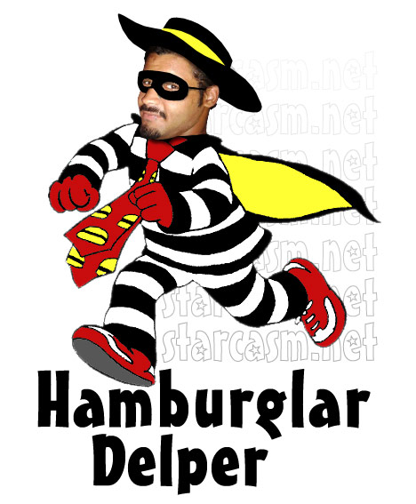 Kieffer Delp as Hamburglar Delper