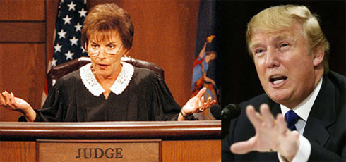 Judge Judy and Donald Trump both have stars on The Hollywood Walk of Fame