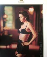 Brandi Glanville modeling lingerie for Wacoal