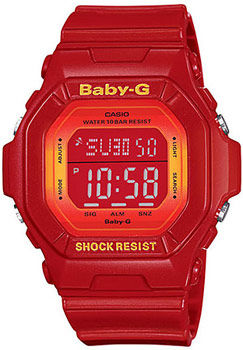 Casio Baby-G watch model BG5600SA-4  red