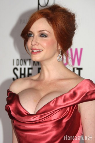 Christina Hendricks I Don't Know How She Does It