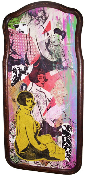 Painting by Danielle Colby Cushman from American Pickers
