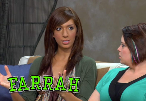 Teen Mom Season 3 Farrah Abraham post-show interview about her trip to Arizona