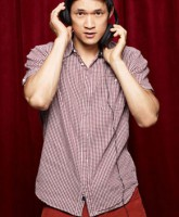 Glee Season 3 cast yearbook photo of Mike Chang played by Harry Shum