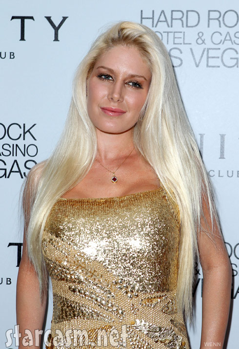 Heidi Montag from her 25th birthday party in Las Vegas September 16 2011