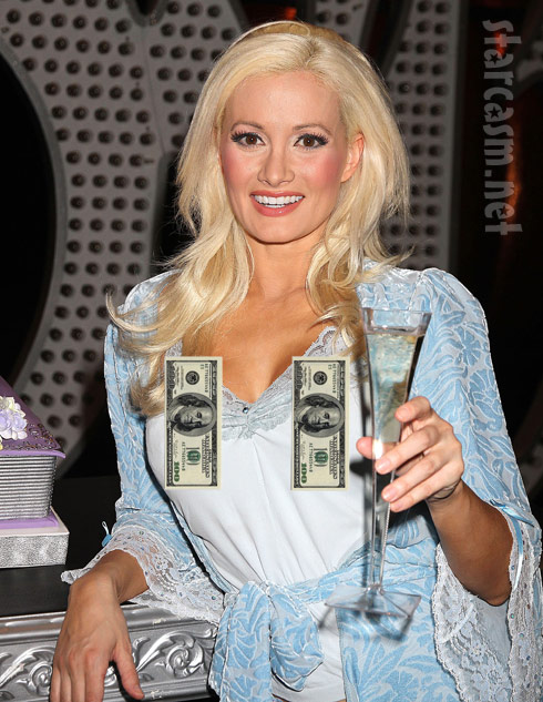 Holly Madison insures breasts for a million dollars