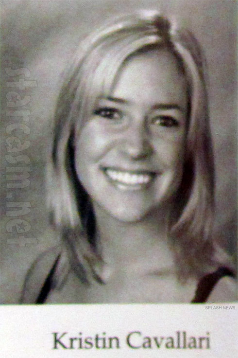 Kristin Cavallari picture from the Laguna High School annual