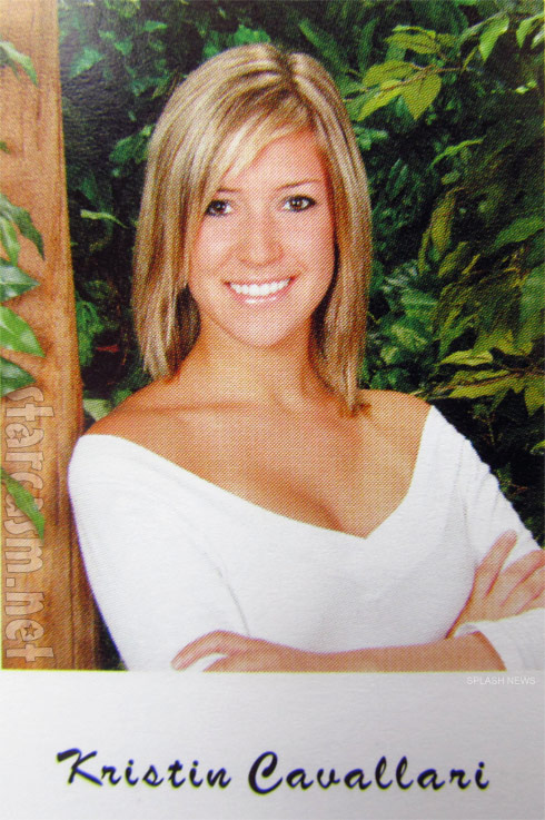 Kristin Cavallari high school yearbook photo