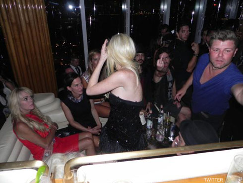 Photo of Lindsay Lohan at the V Blacj and White Ball taken by Jasper Rischen