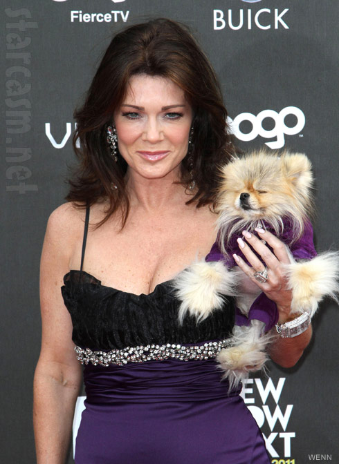 Lisa Vanderpump and Giggy at Logo's 2011 NewNowNext Awards