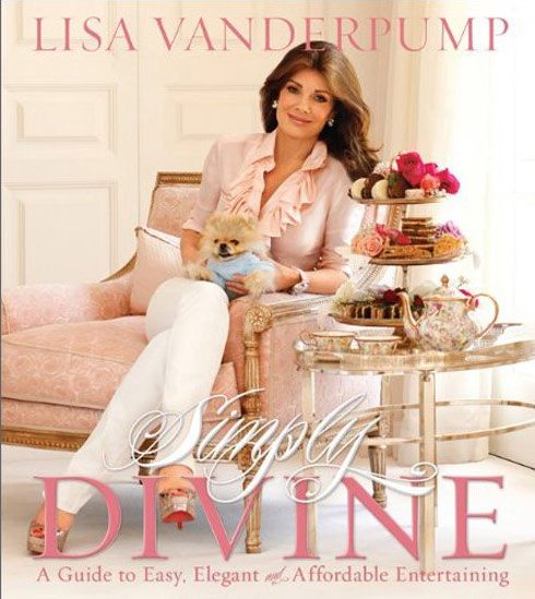 Lisa Vanderpump Simply Divine book cover photo