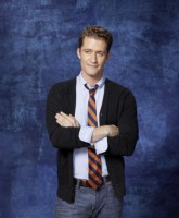 Glee Season 3 cast yearbook photo of Glee Club teacher Will Schuester played by Matthew Morrison