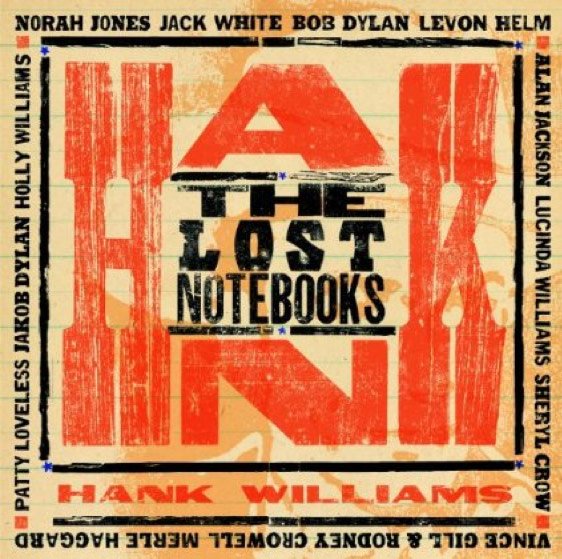 Cover Art The Lost Notebooks of Hank Williams