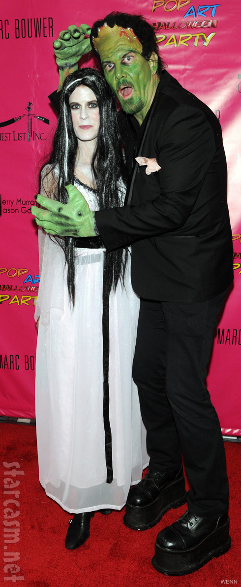 Alex McCord and Simon van Kempen's 2011 Halloween costumes Munsters