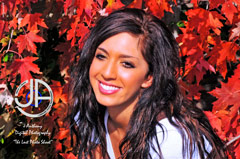 Farrah Abraham modeling photo from Vala's Pumpkin Patchi n Gretna Nebraska