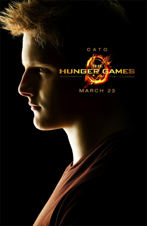 One sheet character poster for The Hunger Games Cato played by Alexander Ludwig