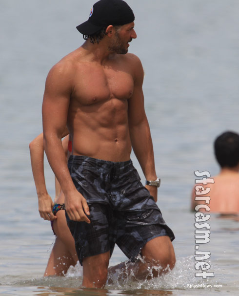 Joe Manganiello shirtless and hot