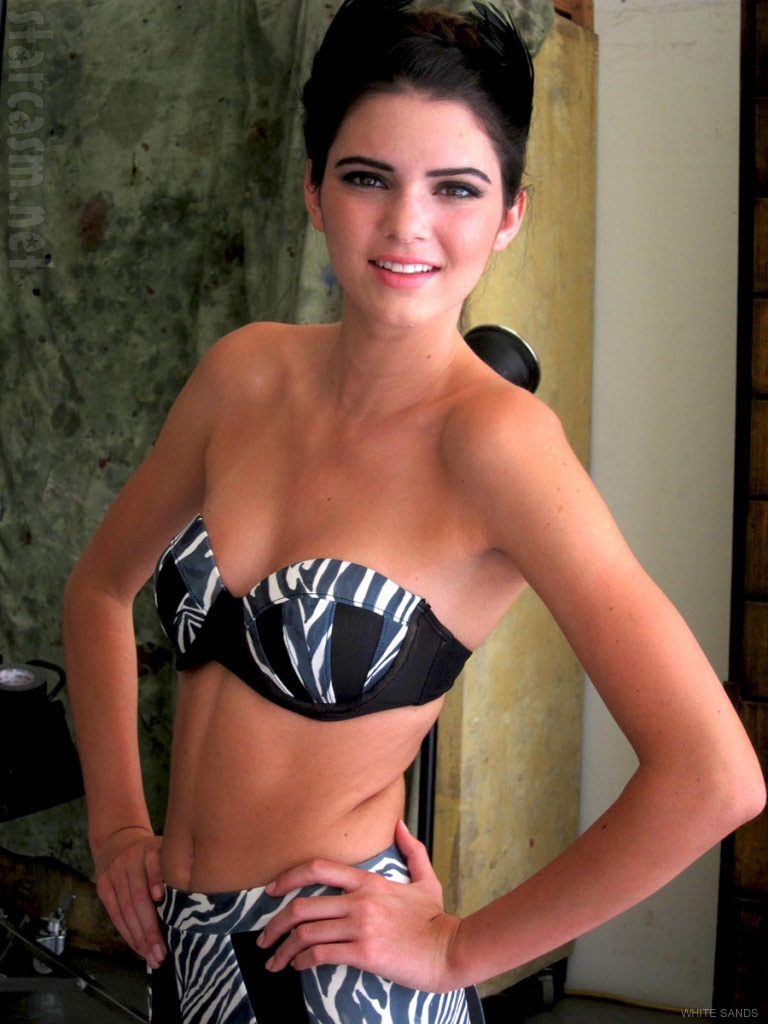 Kendall Jenner bikini picture for White Sands' Spring/Summer 2012 swimwear line