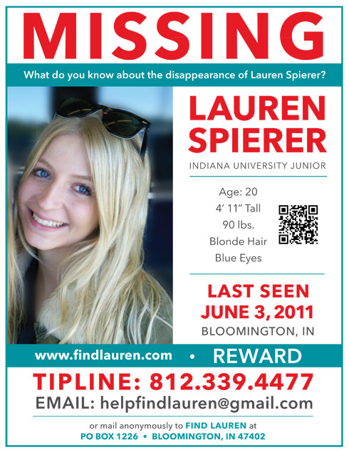 Missing students mother hurt by letter requesting she remove – Missing Persons Poster