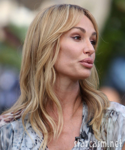 Taylor Armstrong at The Grove