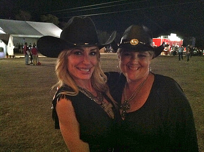 Photo of Taylor Armstrong at The 2011 Cattle Baron's Ball