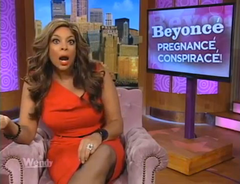 Beyonce  Baby on Wendy Williams Tackles Beyonce Fake Baby Bump Rumors   Starcasm Net
