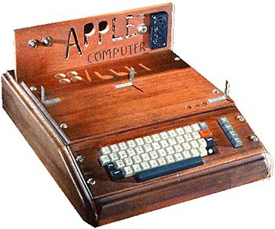 PHOTO - The very first Apple computer, Apple-1
