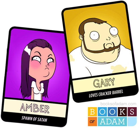Teen Mom trading cards Amber Portwood and Gary Shirley