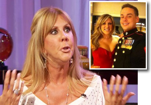 Vicki Gunvalson's daughter Briana Wolfsmith and husband Ryan Culberson