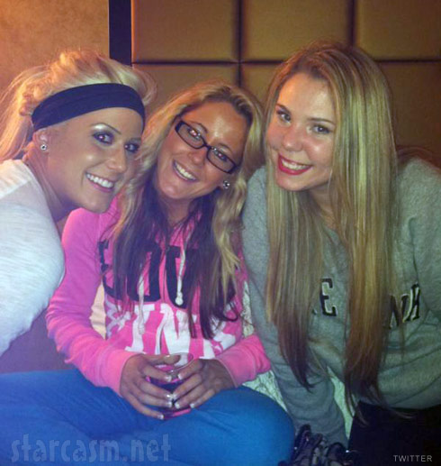 Chelsea Houska Jenelle Evans and Kailyn Lowry lookin' hot in the NYC